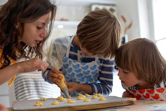 Enfants dans la cuisine - Chouquettes