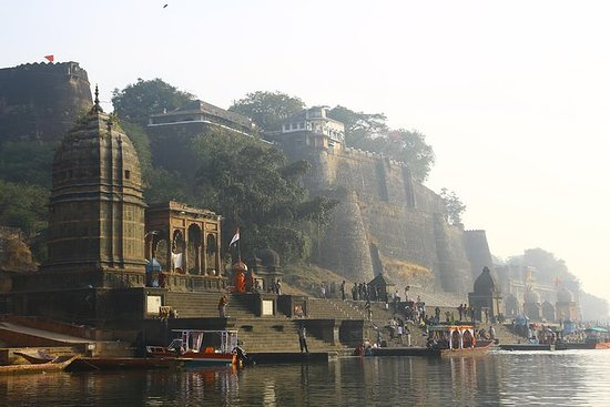 Maheshwar Fort and River banks...