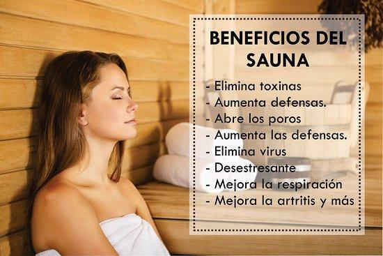 Pisco, Pérou : Beneficios del sauna
