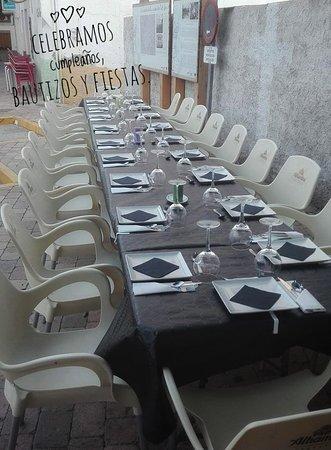 Ugijar, Spania: Celebramos cumpleaños, bautizos y demás fiestas. Pregúntanos presupuesto sin compromiso.