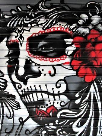 Fresque Masque de Mort