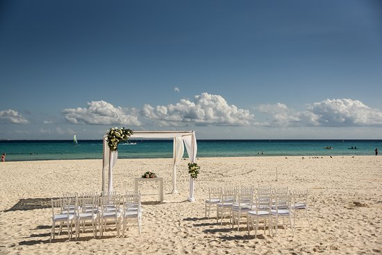 This Was Our Beach Front Wedding Venue Picture Of Hotel
