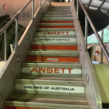 memories of going on board at Essendon Airport