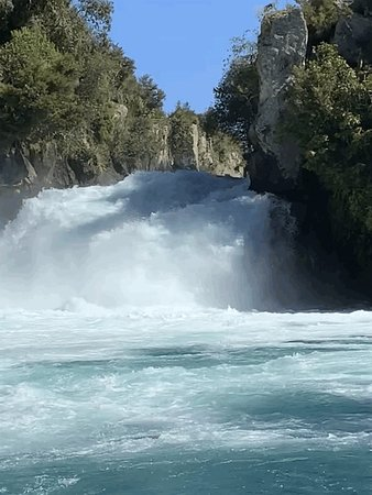 Hukafalls Jet Boat Ride from Taupo: This is how close you get
