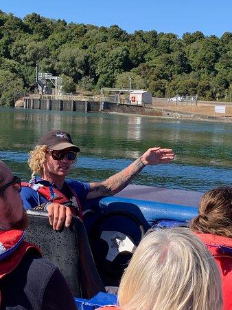 Hukafalls Jet Boat Ride from Taupo: Brendan the driver