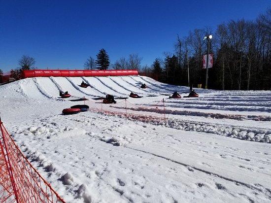 Snowshoe Mountain Tubing Park