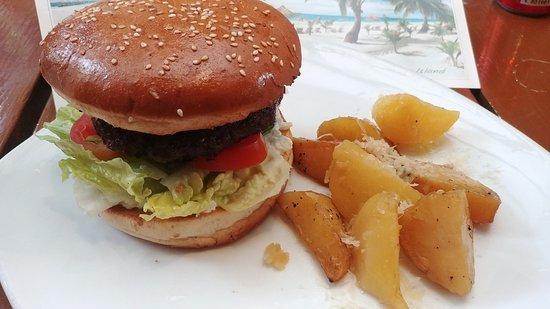 Cyma: greek Burger
