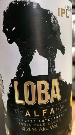 Anden Cinco 35: Cerveza artesanal altera Loba Alfa.