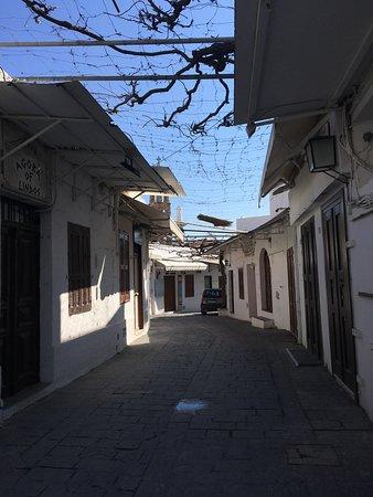 Lindos, Greece: Ville hors saison