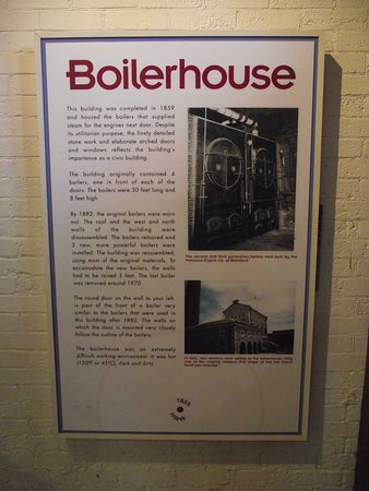 Hamilton Museum of Steam & Technology: CANADA - HAMILTON - MUSEUM OF STEAM & TECH #7 - INFO BOARD ON BOILERHOUSE