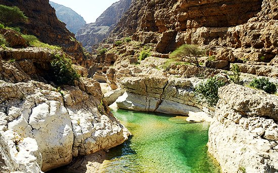 Al Sharqiyah, Oman: وادى شاب