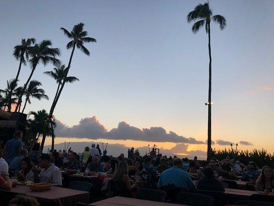 Royal Lahaina Luau: The Luau is at the ocean's edge
