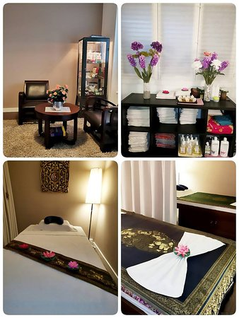 Lotus Thai Spa & Massage: A view in our rooms and our specially made beds