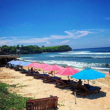 Nice beach, good surf.
