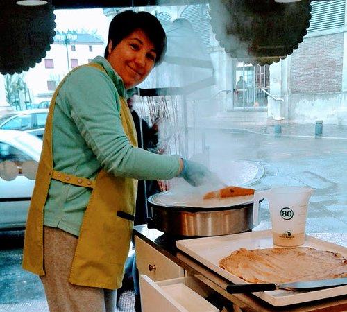 Boulangerie des Recollets: Crêpes cuites sur place tous les jeudis et le dimanch matin