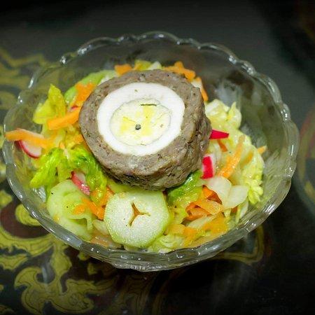 El Qubbah: Salade végétarienne
