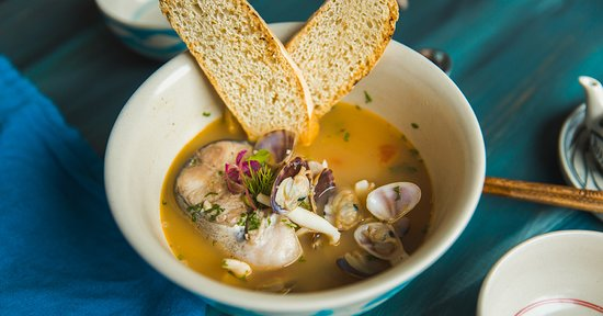 Fisherman Soup Fresh Catch Vietnam - Seafood Mediterranean Restaurant