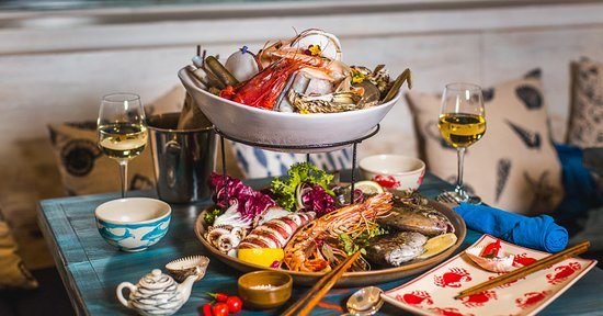 Catalana de Crustaceans  Fresh Catch Vietnam - Seafood Mediterranean Restaurant
