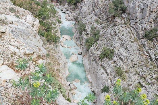 Goynuk Canyon: wodospad