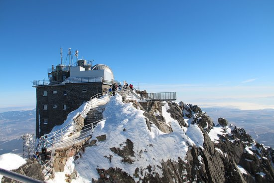 Observatory at the peak