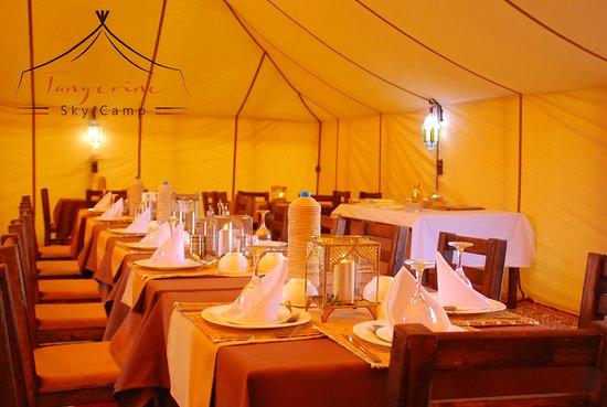 Interior - Picture of Tangerine Sky Camp, Erg Chebbi - Tripadvisor