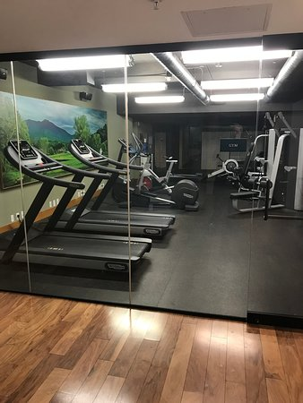Hotel Vermont: Gym - Second floor