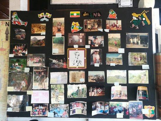 "His Story - History photos of ""Ko Ko"" (Owner of Kalaw Farm House)"