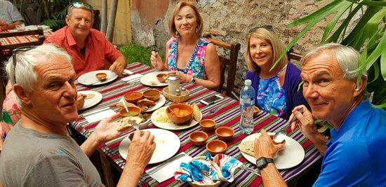 Kukul Tales: Trying delicious Guatemalan food. Yummy!