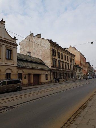 Eclectic area of Krakow