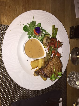 Amigos Restaurant and Roof Terrace: Excellent steak