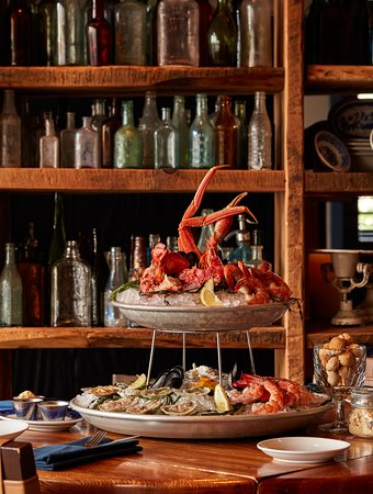Treat yourself to our fabulous Seafood Plateau from our in-house raw bar!