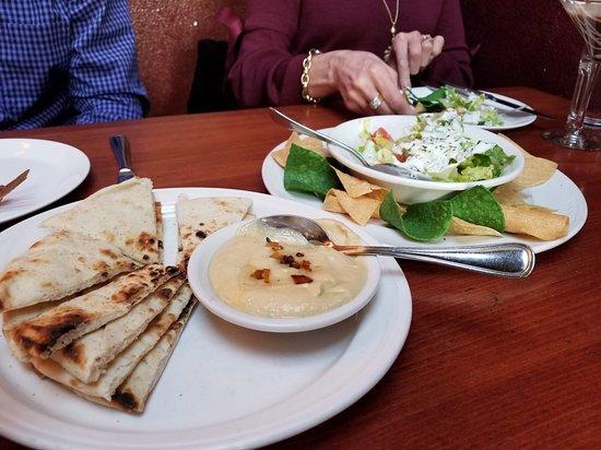"Shish Kebab House of Afghanistan: Happy hour ""nachos"" and hummus"