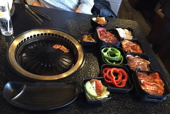 Chako Barbecue: A fun lunch with lots of variety.