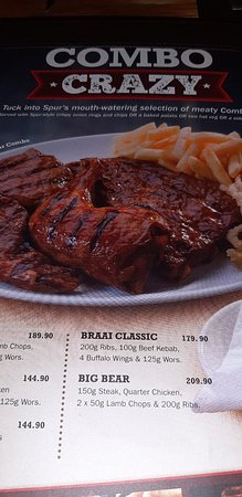 T-bone & Wings Combo - Picture of Palamino Spur Steak Ranch, Sun
