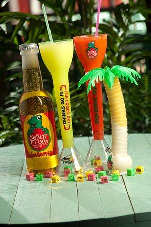 Señor Frog's cocktails at TI Las Vegas