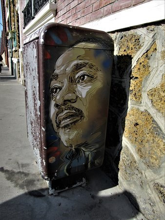 Fresque Martin Luther King