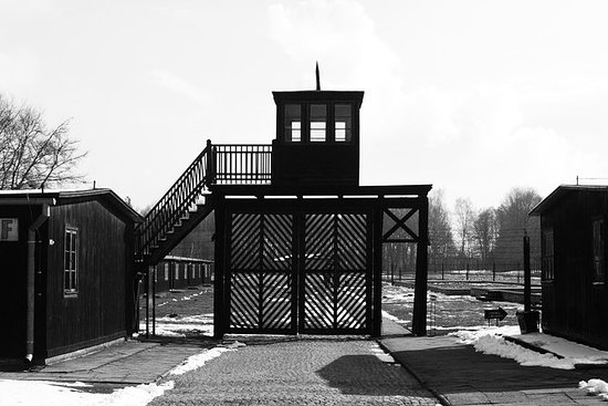 Stutthof Concentration Camp visitando...