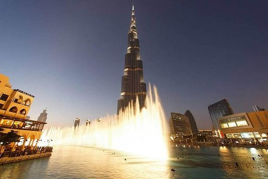 Dubai Fountain Show e Lake Ride