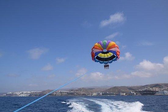 Expérience de parachute ascensionnel...