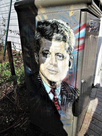 Fresque John Fitzgerald Kennedy