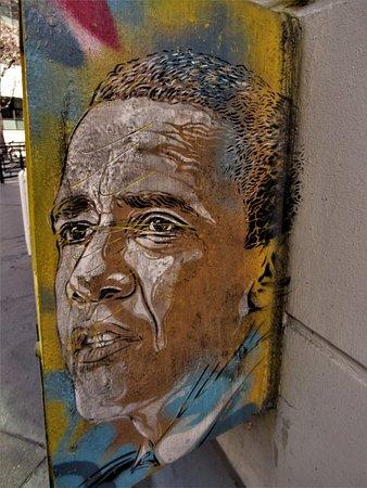 Fresque Barack Obama
