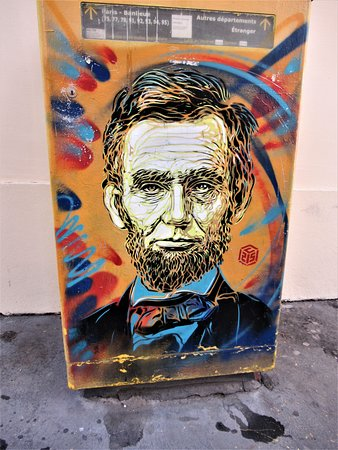 Fresque Abraham Lincoln