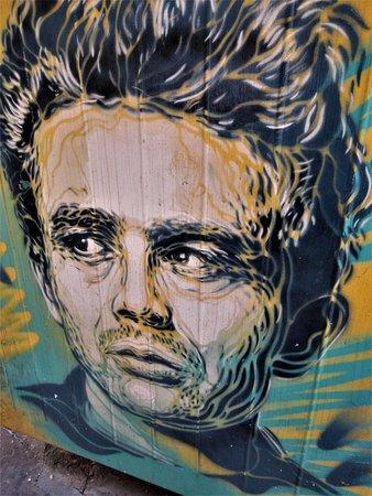 Fresque James Dean