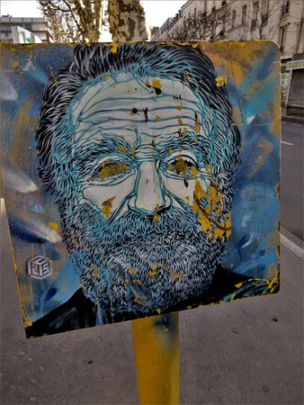 Fresque Robin Williams