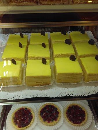Deliciosos pasteles.