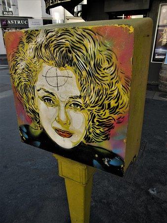 Fresque Marilyn Monroe