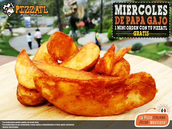 Pizzatl - Pizzeria Delicatessen: ¡Hoy van incluidas! 🍕 🍟♥  #Orizaba #Pizzatl #pizza #lapizzadeorizaba #consumelocal #orizabapueblomagico #PapaGajo