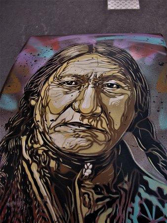 Fresque Sitting Bull