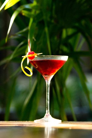 A red, sweet and strong cocktail made with blackberry liqueur and flavored vodka.