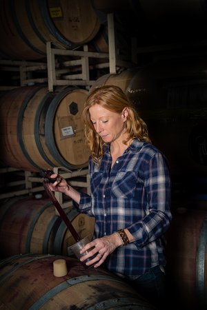 Sarah Hedges Goedhart our winemaker.